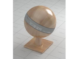 Waxing wood floor vray material