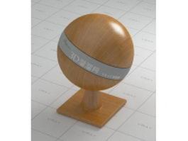 Solid hardwood floor vray material
