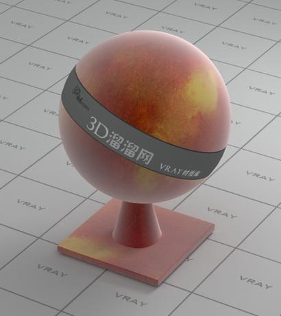 Wild peach material rendering