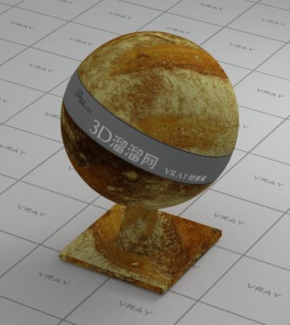 Spanish sandwich material rendering
