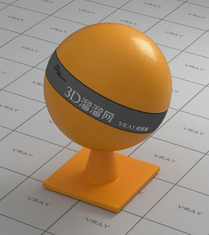 Sweet orange peel material rendering