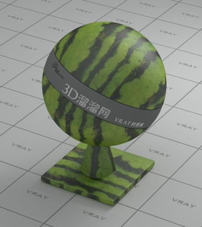 Watermelon material rendering