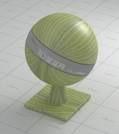 Grass blade material rendering