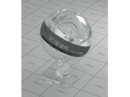 Glass tile vray material