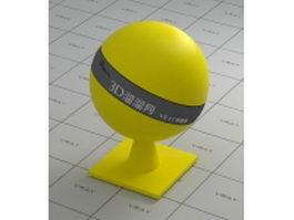 LDPEplastic yellow vray material