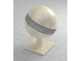 Beige marble tile vray material
