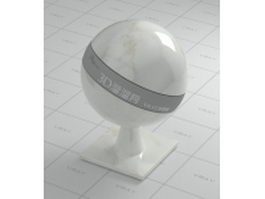 White marble tile vray material