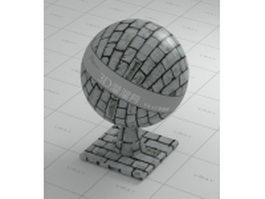Brick Wall V Ray Material Free Download Cadnav
