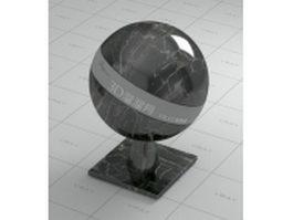 Labrador black marble vray material