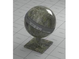 Verde Malachite marble vray material