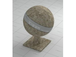 Dirt ground vray material