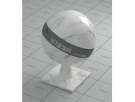 Arabescato Faniello white marble vray material