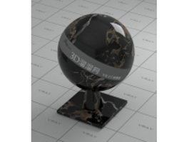 Portoro Extra Italy marble vray material