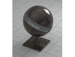 May brown marble vray material