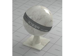 Oxford rose white marble vray material