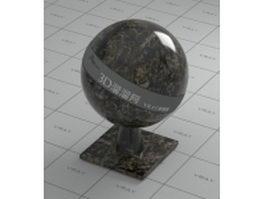 Panama black granite vray material