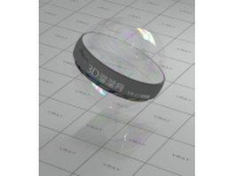 Fun color soap bubble vray material