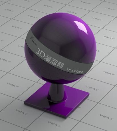 Car paint - pearl violet material rendering