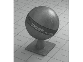 Gray iron vray material