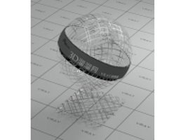 Galvanized wire mesh vray material