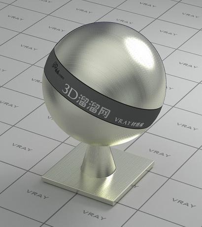 Polished plated metal - light goldenrod material rendering