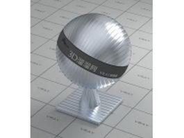 Bump aluminium alloy vray material