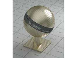Gold alloys plating - texture bump vray material
