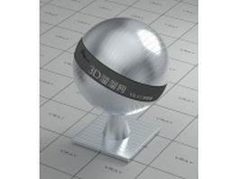 Texture bump stainless steel vray material