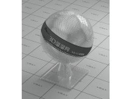 Stainless steel mesh netting vray material
