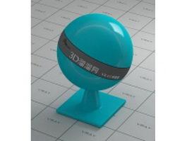 Fibre-reinforced plastic - medium turquoise vray material