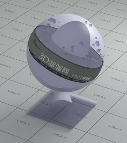 Translucent plastic film packing material rendering
