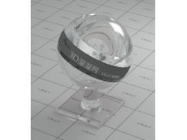 Transparent plastic containers vray material