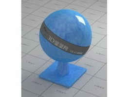 Glass-fiber reinforced plastic - blue and white vray material
