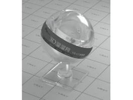 Acrylic material glass vray material