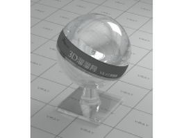 Architectural plate glass vray material
