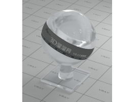 Acrylic organic glass vray material