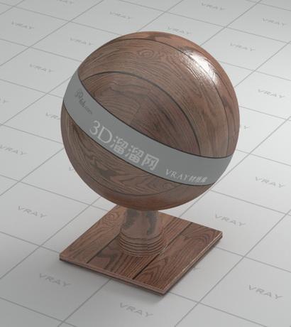 Wooden floorboards material rendering