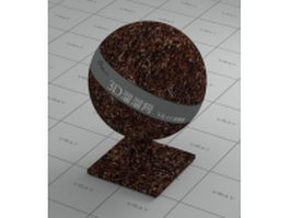 Soil mulch vray material