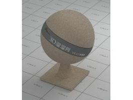 Quartz sand vray material