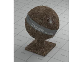 Ground with stones vray material