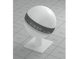 White wax vray material