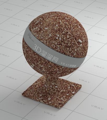 Soil block material rendering