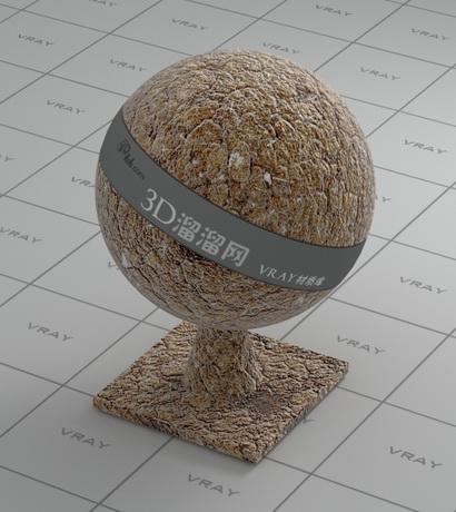 Soil land material rendering