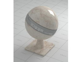 Fortune gold marble vray material