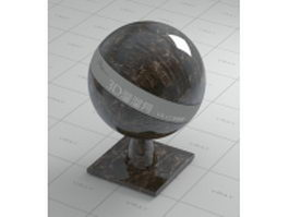 Allen gold marble vray material
