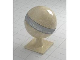 Emperador Light beige marble vray material