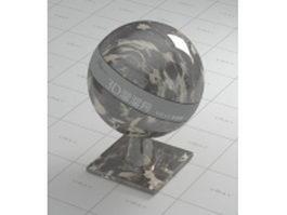 Portoro marble vray material