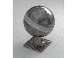 Hegrx black marble vray material