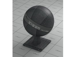 Floor tile - dark slate grey vray material