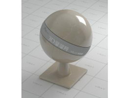 Dark gold marble vray material